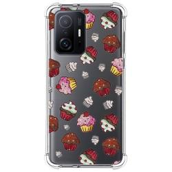 Funda Silicona Antigolpes para Xiaomi 11T 5G / 11T Pro 5G diseño Muffins Dibujos