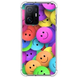 Funda Silicona Antigolpes para Xiaomi 11T 5G / 11T Pro 5G diseño Smile Dibujos