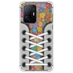 Funda Silicona Antigolpes para Xiaomi 11T 5G / 11T Pro 5G diseño Zapatillas 05 Dibujos