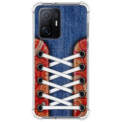 Funda Silicona Antigolpes para Xiaomi 11T 5G / 11T Pro 5G diseño Zapatillas 11 Dibujos