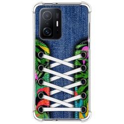 Funda Silicona Antigolpes para Xiaomi 11T 5G / 11T Pro 5G diseño Zapatillas 13 Dibujos