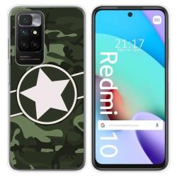 Funda Silicona para Xiaomi Redmi 10 diseño Camuflaje 01 Dibujos