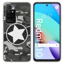 Funda Silicona para Xiaomi Redmi 10 diseño Camuflaje 02 Dibujos