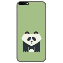 Funda Gel Tpu para Leagoo M7 Diseño Panda Dibujos