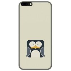 Funda Gel Tpu para Leagoo M7 Diseño Pingüino Dibujos