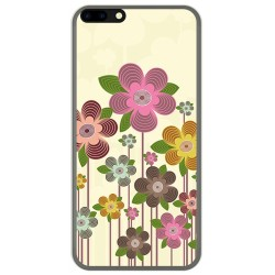 Funda Gel Tpu para Leagoo M7 Diseño Primavera En Flor Dibujos