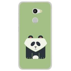 Funda Gel Tpu para Alcatel A3 (4G) Diseño Panda Dibujos