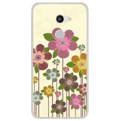 Funda Gel Tpu para Alcatel A3 (4G) Diseño Primavera En Flor  Dibujos