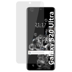 Protector Pantalla hidrogel Mate Antihuellas para Samsung Galaxy S20 Ultra