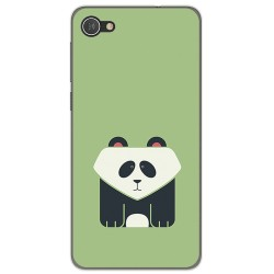 Funda Gel Tpu para Alcatel A5 Led Diseño Panda Dibujos
