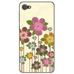 Funda Gel Tpu para Alcatel A5 Led Diseño Primavera En Flor  Dibujos