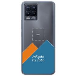 Personaliza tu Funda Doble Pc + Tpu 360 con tu Fotografia para Realme 8 4G / 8 Pro Dibujo Personalizada