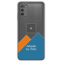 Personaliza tu Funda Doble Pc + Tpu 360 con tu Fotografia para Samsung Galaxy A03s Dibujo Personalizada