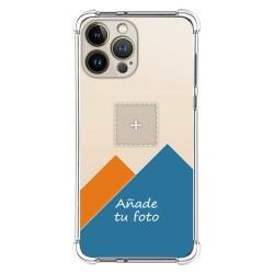 Personaliza tu Funda Silicona AntiGolpes Transparente con tu Fotografía compatible con Iphone 13 Pro Max (6.7) Personalizada
