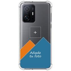 Personaliza tu Funda Silicona AntiGolpes Transparente con tu Fotografía para Xiaomi 11T 5G / 11T Pro 5G Dibujo Personalizada