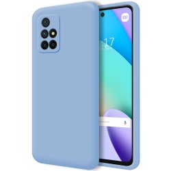 Funda Silicona Líquida Ultra Suave para Xiaomi Xiaomi Redmi 10 color Azul