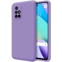 Funda Silicona Líquida Ultra Suave para Xiaomi Xiaomi Redmi 10 color Morada