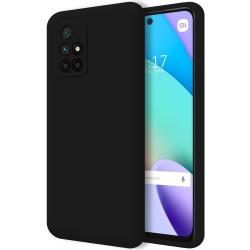 Funda Silicona Líquida Ultra Suave para Xiaomi Xiaomi Redmi 10 color Negra