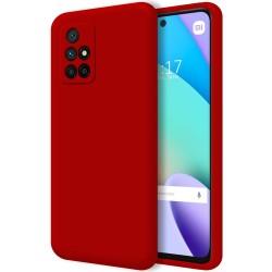 Funda Silicona Líquida Ultra Suave para Xiaomi Xiaomi Redmi 10 color Roja
