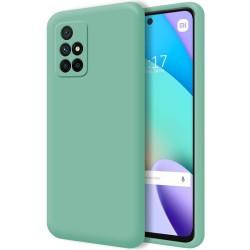 Funda Silicona Líquida Ultra Suave para Xiaomi Xiaomi Redmi 10 color Verde