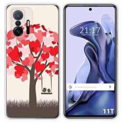 Funda Silicona para Xiaomi 11T 5G / 11T Pro 5G diseño Pajaritos Dibujos