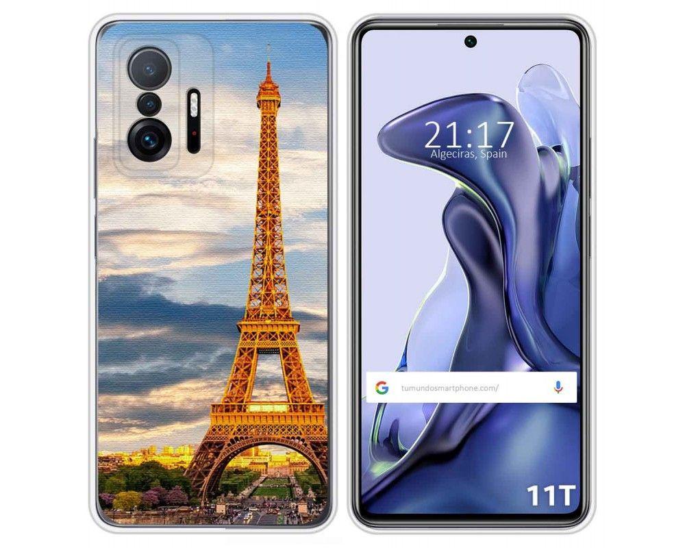 Funda Silicona para Xiaomi 11T 5G / 11T Pro 5G diseño Paris Dibujos