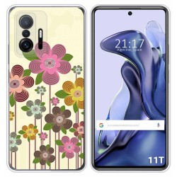 Funda Silicona para Xiaomi 11T 5G / 11T Pro 5G diseño Primavera En Flor Dibujos