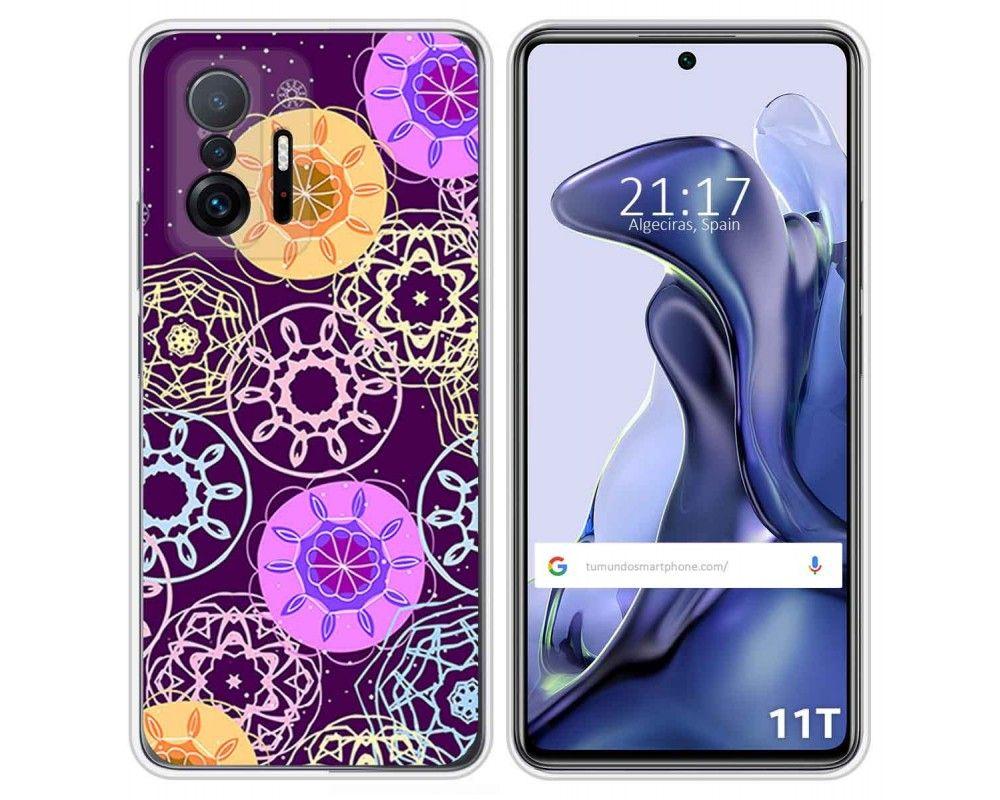 Funda Silicona para Xiaomi 11T 5G / 11T Pro 5G diseño Radial Dibujos