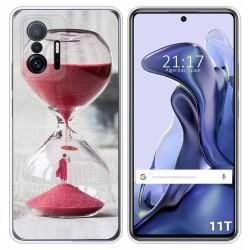 Funda Silicona para Xiaomi 11T 5G / 11T Pro 5G diseño Reloj Dibujos