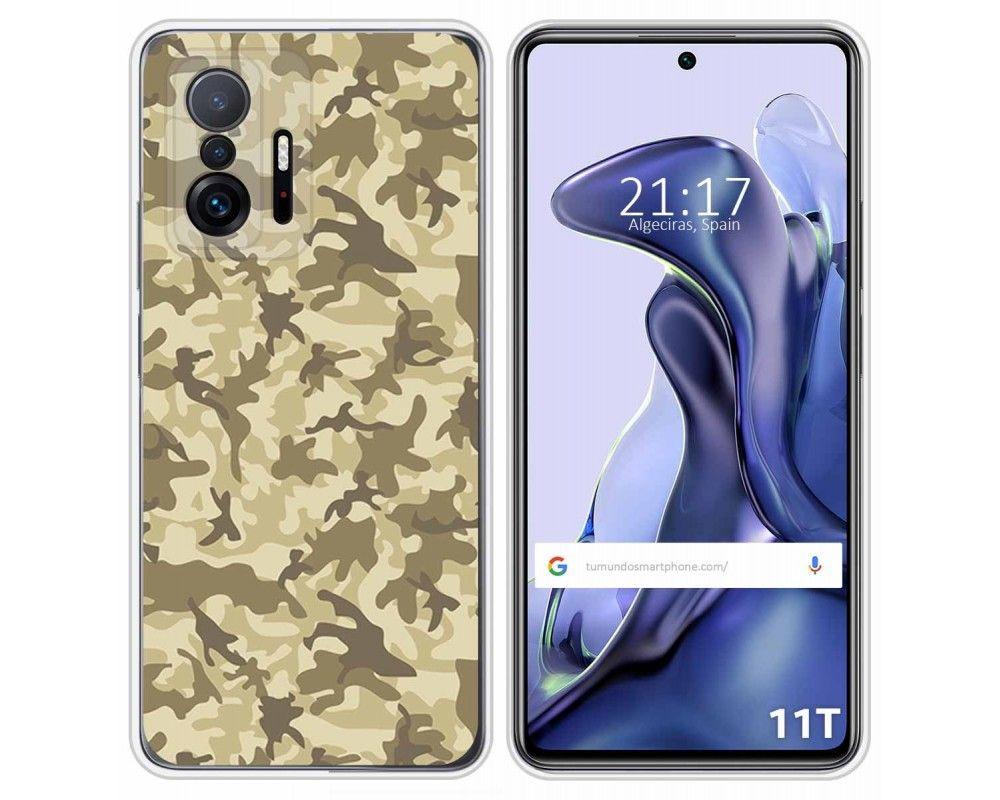 Funda Silicona para Xiaomi 11T 5G / 11T Pro 5G diseño Sand Camuflaje Dibujos