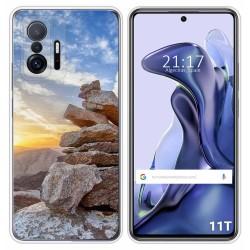 Funda Silicona para Xiaomi 11T 5G / 11T Pro 5G diseño Sunset Dibujos