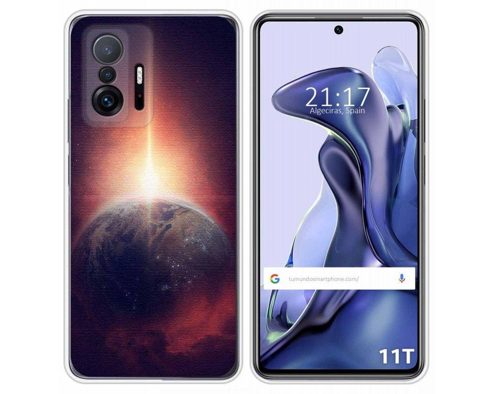 Funda Silicona para Xiaomi 11T 5G / 11T Pro 5G diseño Tierra Dibujos