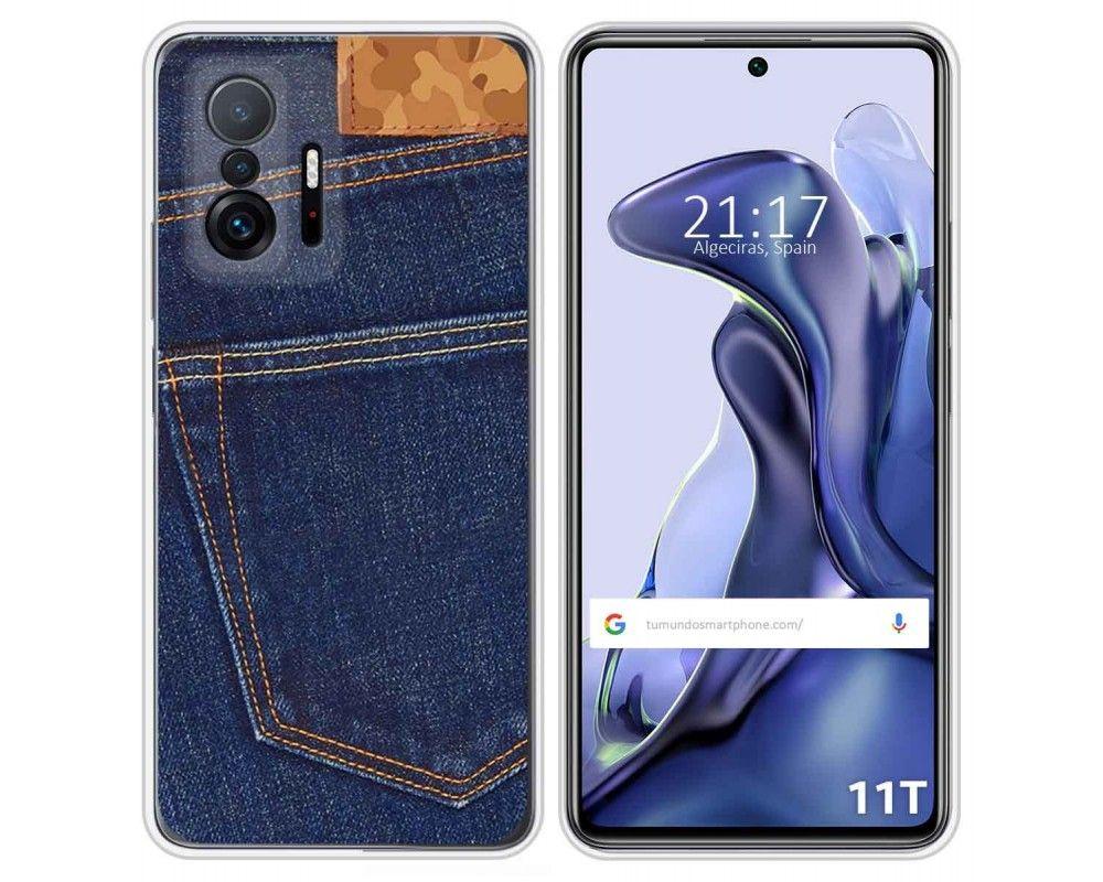 Funda Silicona para Xiaomi 11T 5G / 11T Pro 5G diseño Vaquero Dibujos