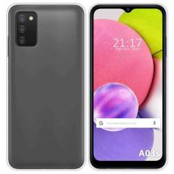 Funda Silicona Gel TPU Transparente para Samsung Galaxy A03s
