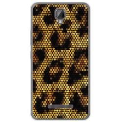 Funda Gel Tpu para Hisense F22 Diseño Leopardo Dibujos