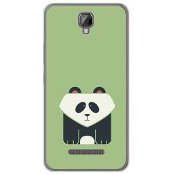 Funda Gel Tpu para Hisense F22 Diseño Panda Dibujos