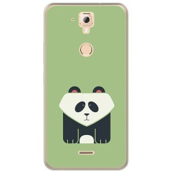 Funda Gel Tpu para Hisense F23 Diseño Panda Dibujos