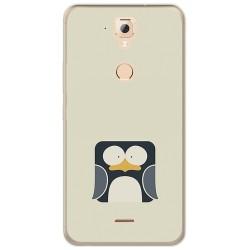 Funda Gel Tpu para Hisense F23 Diseño Pingüino Dibujos