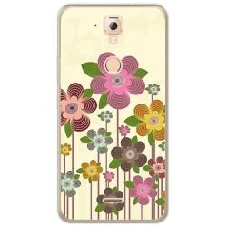 Funda Gel Tpu para Hisense F23 Diseño Primavera En Flor Dibujos