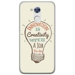Funda Gel Tpu para Huawei Honor 6A Diseño Creativity Dibujos