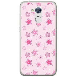 Funda Gel Tpu para Huawei Honor 6A Diseño Flores Dibujos