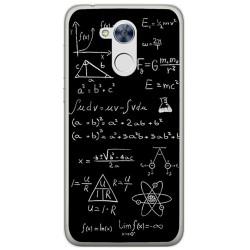Funda Gel Tpu para Huawei Honor 6A Diseño Formulas Dibujos