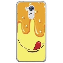 Funda Gel Tpu para Huawei Honor 6A Diseño Helado Vainilla Dibujos