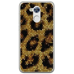 Funda Gel Tpu para Huawei Honor 6A Diseño Leopardo Dibujos