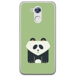 Funda Gel Tpu para Huawei Honor 6A Diseño Panda Dibujos