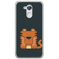 Funda Gel Tpu para Huawei Honor 6A Diseño Tigre Dibujos