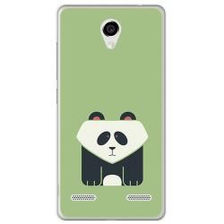 Funda Gel Tpu para Zte Blade L7 Diseño Panda Dibujos