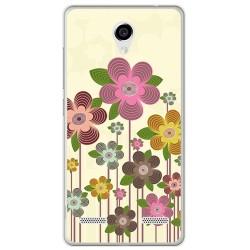 Funda Gel Tpu para Zte Blade L7 Diseño Primavera En Flor  Dibujos
