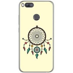Funda Gel Tpu para Xiaomi Mi 5X / Mi A1 Diseño Atrapasueños Dibujos