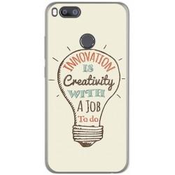 Funda Gel Tpu para Xiaomi Mi 5X / Mi A1 Diseño Creativity Dibujos